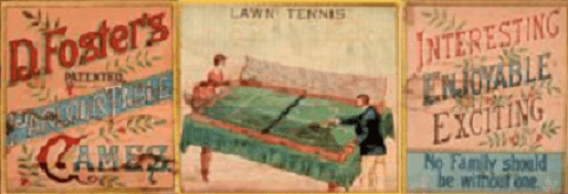 History of table tennis Foster