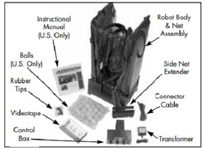 Manual for robo-pong 2040+
