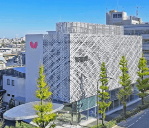 Butterfly table tennis head office building finished in 2018