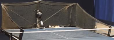 Ping pong robot serve return