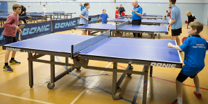 Table tennis benefits socializing people