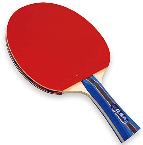 Zhang jike ping pong paddle red rubber Flextra