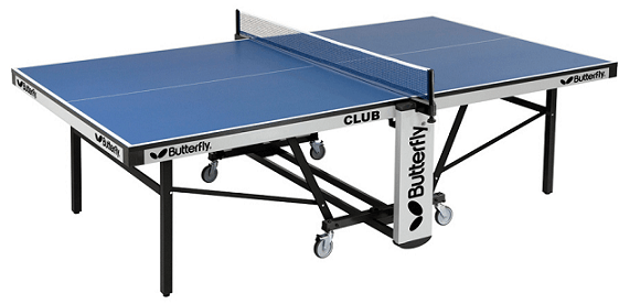 Best ping pong tables Butterfly Club 25 whole table with the net
