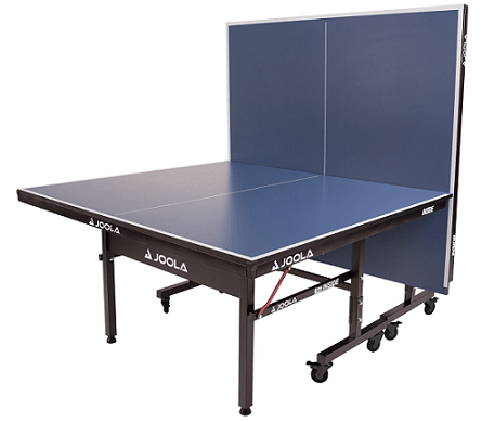 Best ping pong tables Joola Inside 25 half table assembled blue color