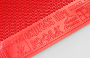 Joola express ultra pips out red rubber