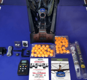 Newgy Robo-pong ping pong robot with all accessories