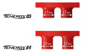 Tenergy 05 ping pong rubber sponge red