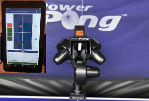 Top ping pong robots Power Pong Omega and remote control