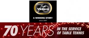Yasaka brand winning story table tenni
