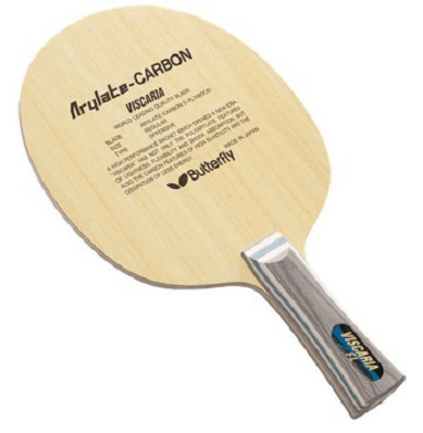Best ping pong blades butterfly viscaria carbon
