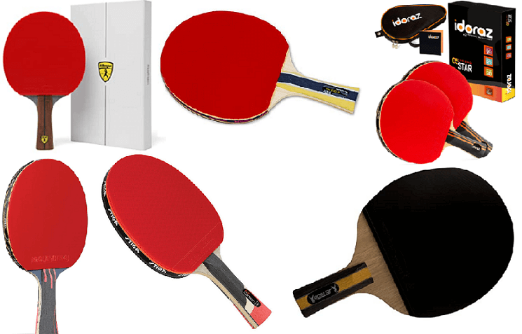 7 best ping pong paddles under 100 killerspin joola stiga butterfly