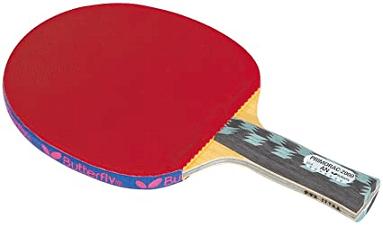 Anatomic handle racket table tennis