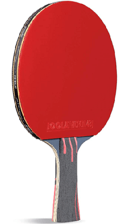 Best ping pong paddles under 100 Joola infinity overdrive paddle with red rubber
