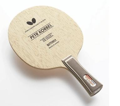 Best table tennis blades under 100 Butterfly Petr Korbel all wood blade