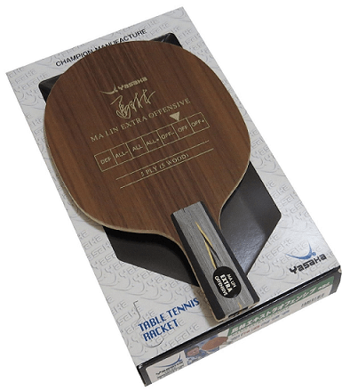 Best table tennis blades under 100 Yasaka ma lin soft carbon penhold blade with case racket