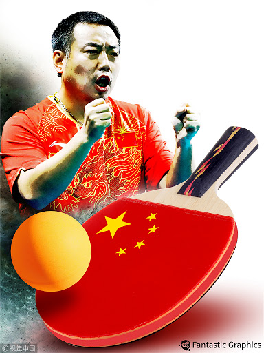 Best table tennis players Liu Guoliang