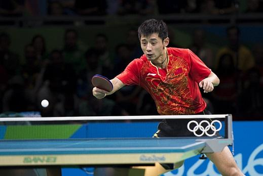 Best table tennis players Zhang Jike 2