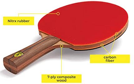 Killerspin Jet800 ping pong paddle characteristics