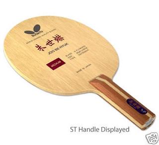 Straight handle type racket table tennis