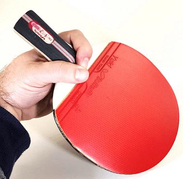 Penhold grip table tennis