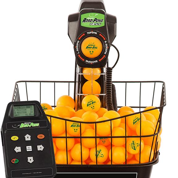 Newgy Robo-Pong 1055 head control box and orange balls