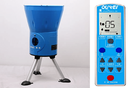 Oukei E1A stand on the table and control box remote