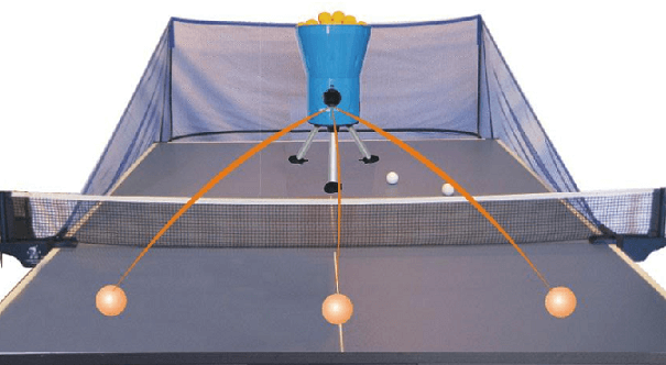 Oukei tw E1A characteristics with throwing the ball on the table