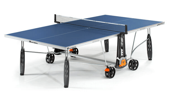 Best outdoor ping pong tables cornilleau 250s crossover blue version table