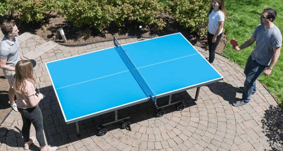 Best outdoor ping pong tables joola nova pro plus backyard playing