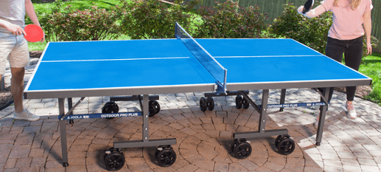 Best outdoor ping pong tables joola nova pro plus family playing