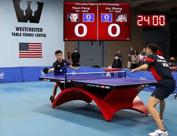 best table tennis clubs in the usa westchester tournament chinese players match
