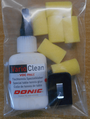 Best table tennis glue donic vario 37ml with sponge and button for using