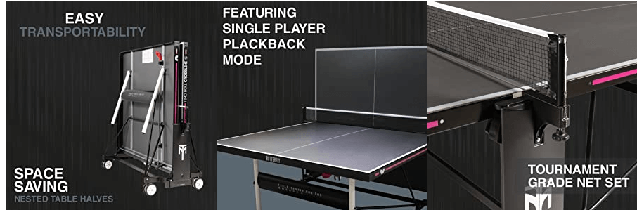 Butterfly timo boll outdoor characteristics of the table