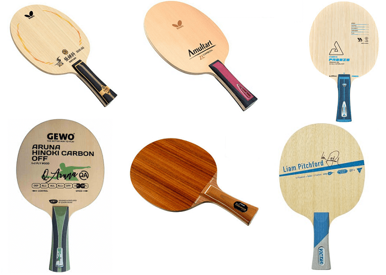most expensive table tennis blades butterfly joola gewo