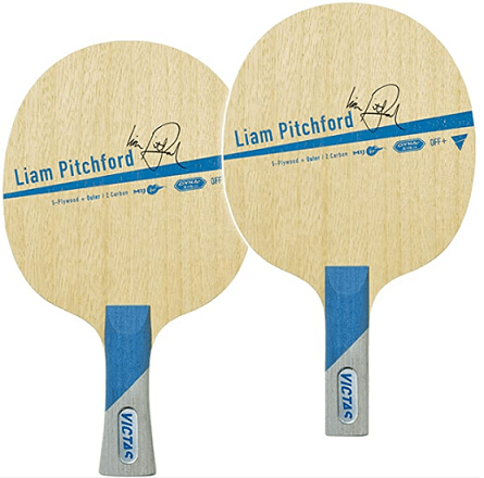most expensive table tennis blades victas liam pitchford two blades different handle