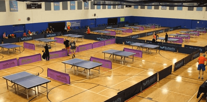 sunsrise table tennis club in the usa