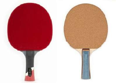 two rackets comparison from ebay