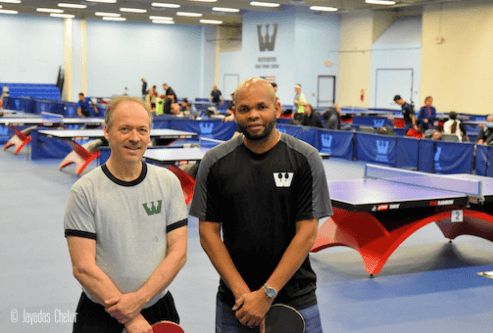 will shortz and robert roberts westchester table tennis club new york