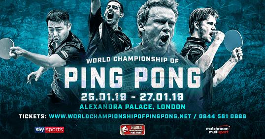 world championship ping pong alexander palace london