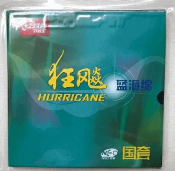 dhs hurricane 3 national blue sponge rubber
