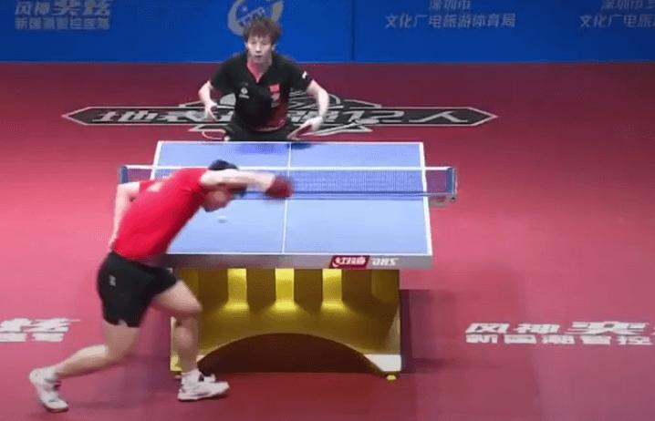table tennis skills for advanced players reverse pendulum serve technique