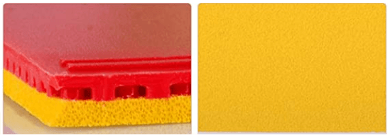 7 best table tennis rubbers for spin dhs gold arc sponge and surface rubber red