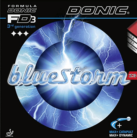 7 best table tennis rubbers for spin donic bluestorm z3 main image amazon